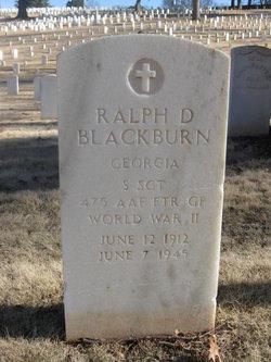 Ralph D Blackburn