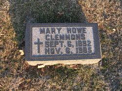 Mary <i>Howe</i> Clemmons