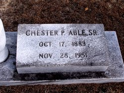 Chester P Able, Sr