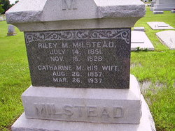 Catharine May <i>Oster</i> Milstead