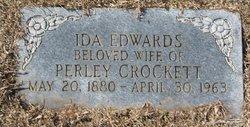 Ida <i>Edwards</i> Crockett