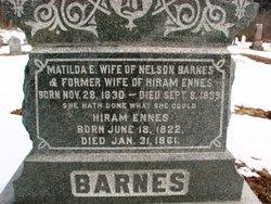 Matilda E <i>VanNest</i> Barnes
