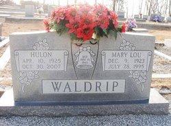 Mary Lou <i>Adams</i> Waldrip
