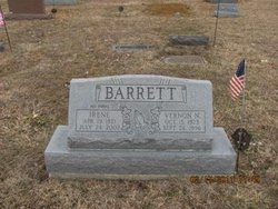 Irene <i>Evans</i> Barrett