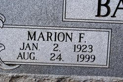 Marion Franklin Bandy