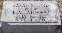 Sarah Shelby <i>Todd</i> Hathaway
