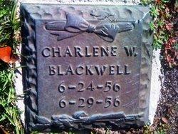 Charlene W Blackwell