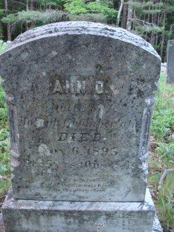 Ann D. <i>Dalton</i> Chamberlain