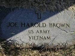 Joe Harold Brown
