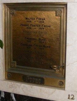 Frances Elmira Fannie <i>Foster</i> Frear