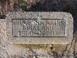 Sara <i>Akins</i> Kirkland
