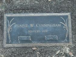 Duaine William Cunningham