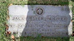 Pvt Jack Lester Hoover