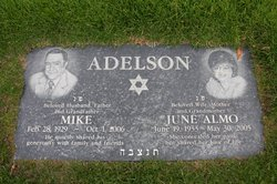 June Esther <i>Almo (Almoshino)</i> Adelson