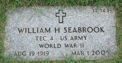 William H Seabrook