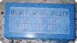 Myrle Ross Platt