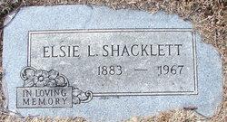 Elsie L. <i>Davis</i> Shacklett