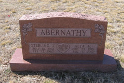 Alta Maurine <i>Roberson</i> Abernathy