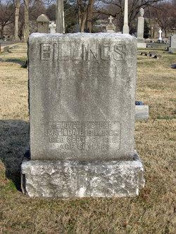 Matilda B <i>Rogers</i> Billings