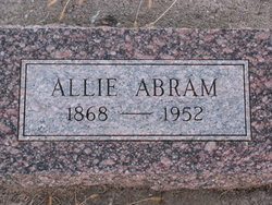 Alma S. Allie <i>Quakenbush</i> Abram