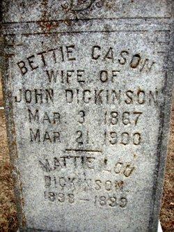 Bettie Perkins <i>Cason</i> Dickinson
