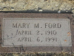 Mary M Ford
