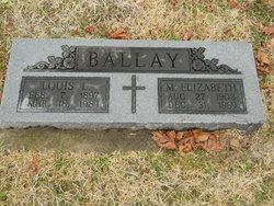 Margaret Elizabeth <i>Roder</i> Ballay