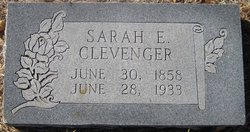 Sarah Elizabeth <i>Boen</i> Clevenger