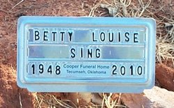 Betty Louise Giddily Sing