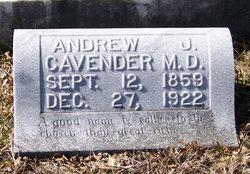 Andrew Jackson Cavender