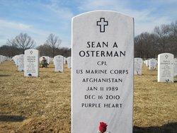 Corp Sean A. Osterman