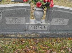Middie Grace <i>Hays</i> Riddle