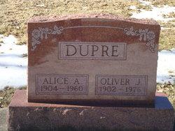 Alice Amanda <i>McKinley</i> Dupre