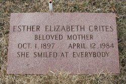 Esther Elizabeth Betty <i>Swarthout</i> Crites