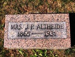 Kate F <i>Ernst</i> Altheide