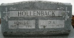 Agnes <i>Lynch</i> Hollenback
