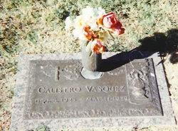 Calistro Vasquez, Sr