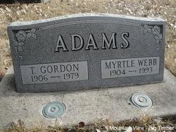 T Gordon Adams