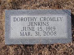 Dorothy <i>Cromley</i> Jenkins
