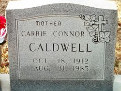 Carrie <i>Connor</i> Caldwell
