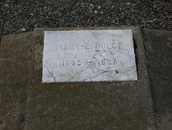 Mary E <i>Suhr</i> Bolce