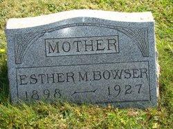 Esther M <i>Cramer</i> Bowser