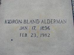 Kidron <i>Bland</i> Alderman