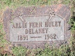 Arlie Fern <i>Hulet</i> Delaney