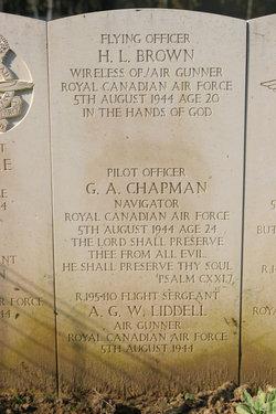 Sgt Arthur George William Liddell