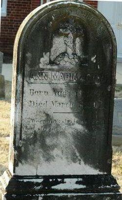 Ann Maria <i>Jones</i> Acton