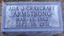 Ada Jane <i>Craycraft</i> Armstrong