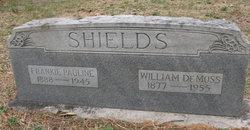 Frankie Pauline <i>Jones</i> Shields