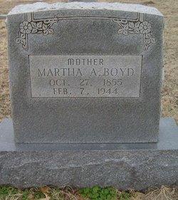 Martha A Boyd