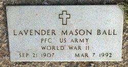Levander Mason Ball